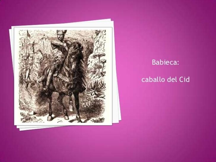 Tantos y tan ricosregalosproducengranadmiración en Castillahacia el Cid.