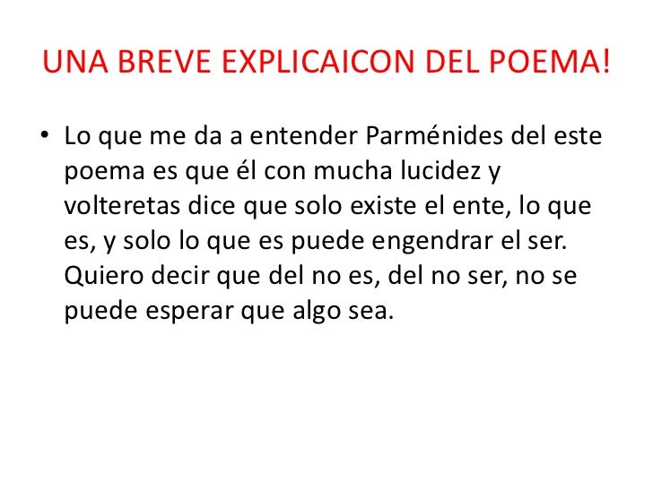 PARMENIDES POEMA DE LA NATURALEZA PDF DOWNLOAD