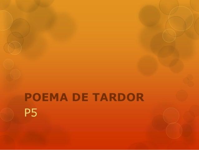 POEMA DE TARDOR P5