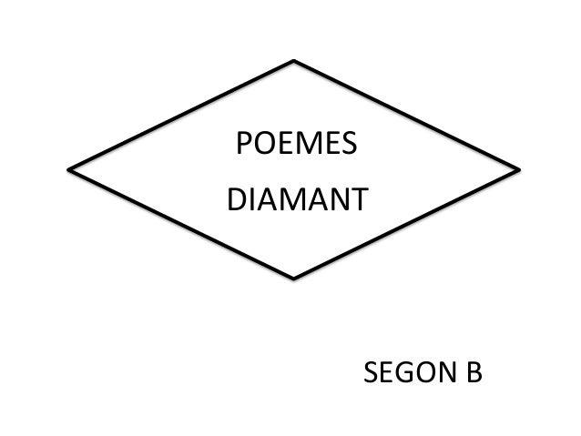 POEMES DIAMANT SEGON B