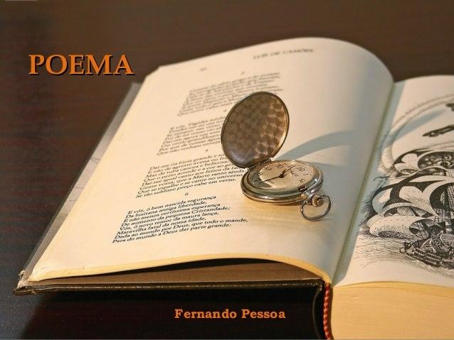 POEMA  Fernando Pessoa