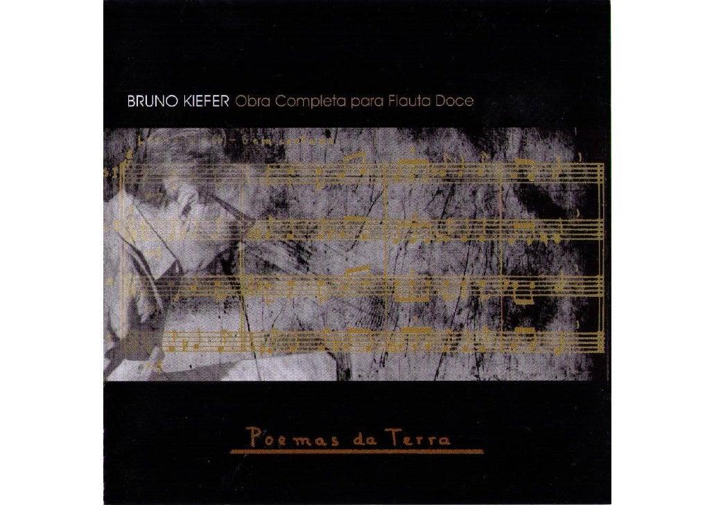 Quarteto Poemas da terra - Bruno Kiefer