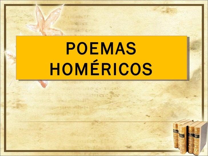 POEMAS HOMÉRICOS