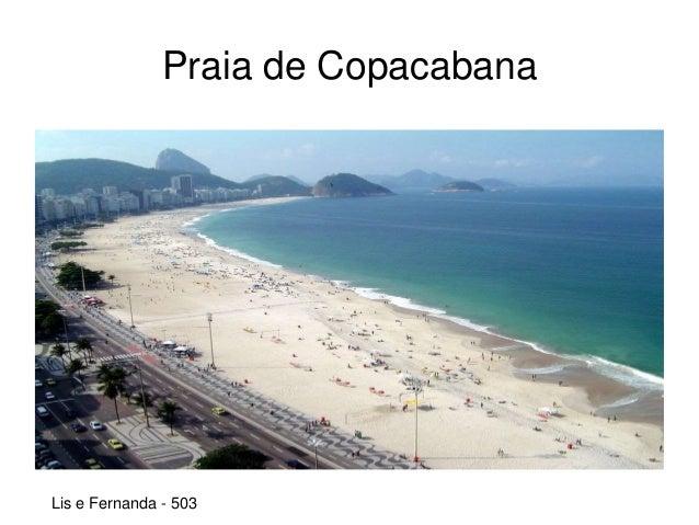 Praia de Copacabana Lis e Fernanda - 503