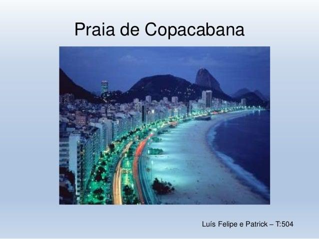 Luís Felipe e Patrick – T:504 Praia de Copacabana
