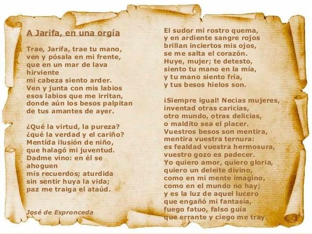 Poemas romanticismo y postromantico for Buscador de poemas