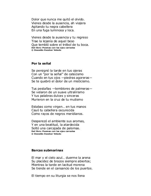 Poemas salvadoreños Slide 2