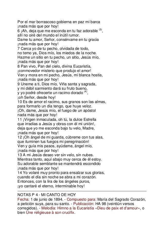 Poemas Santa Teresaliseaux
