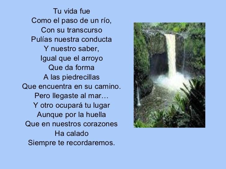 Reflexiones De La Vida Cortos: Poemas Sobre El Agua