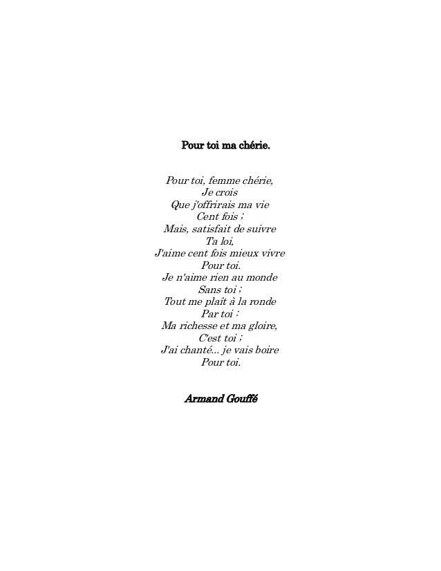 Les Petits Poèmes Damour