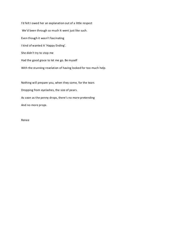 Poem Give Up Yer Auld Pills March 21st V Ersion 3 2011 Renee