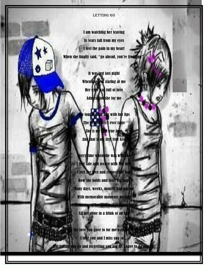 Poem Letting Go