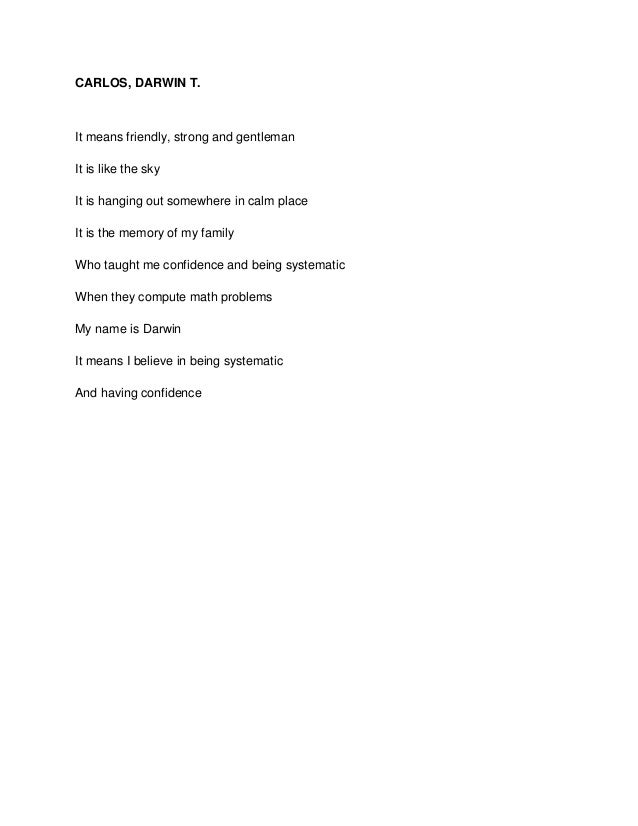 Poems About Confidence 5