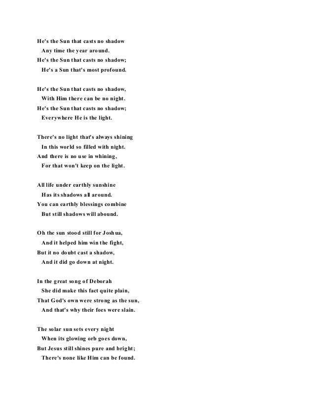 Sunshine of your life lyrics