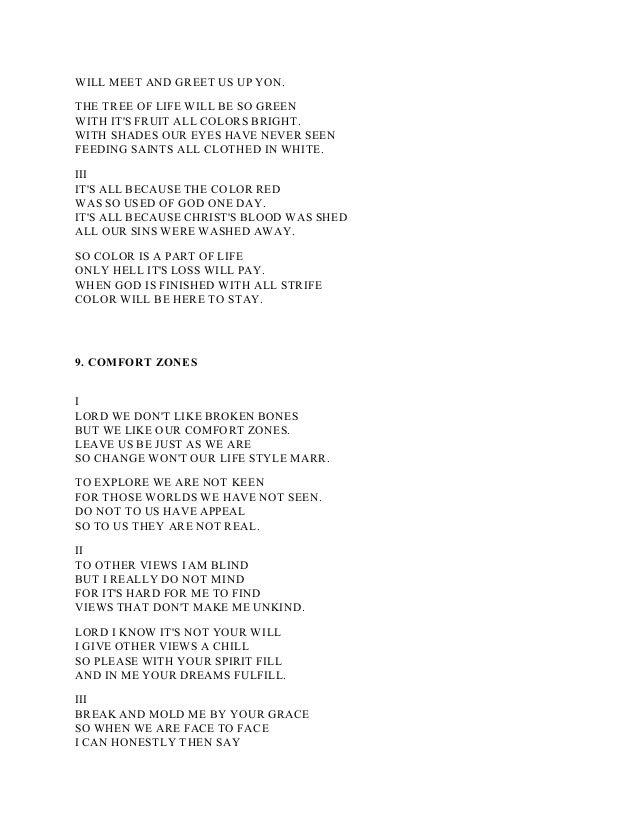 Lyric open our eyes lord lyrics : Poems and lyrics