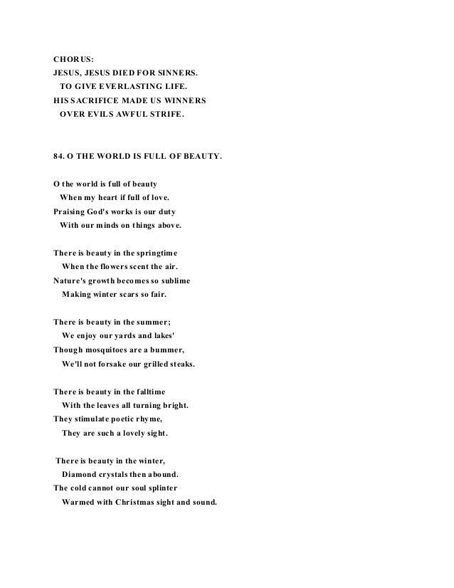 Lyric lyrics to family of god : Poems and lyrics