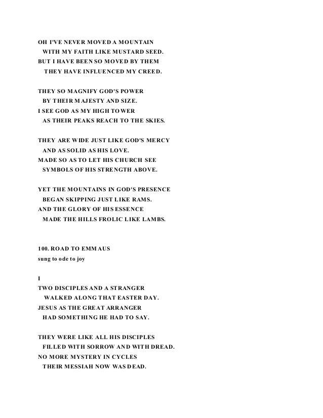 My soul is a witness lyrics