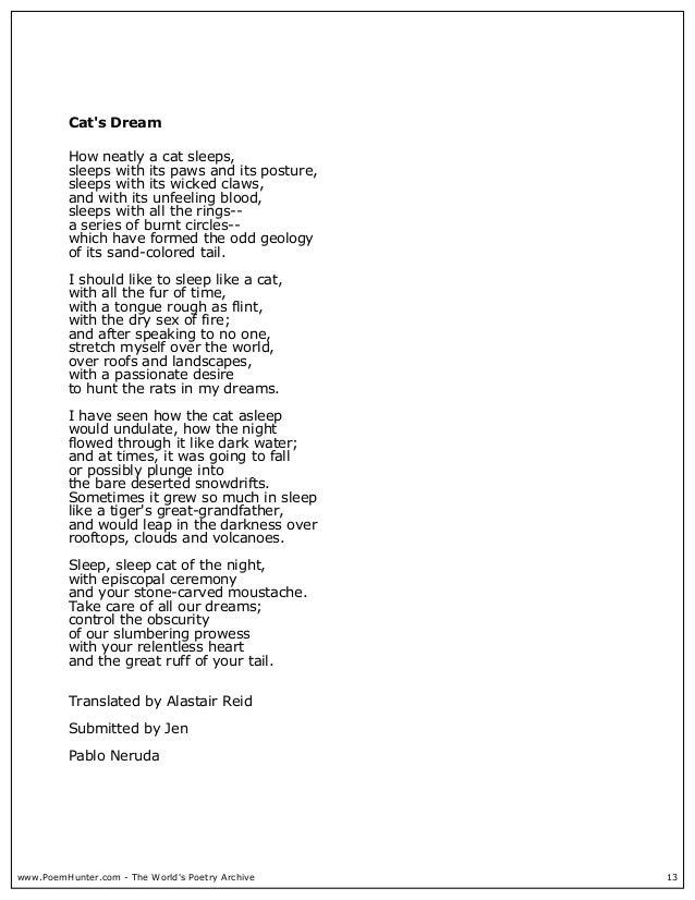 Poems By Pablo Neruda 2004