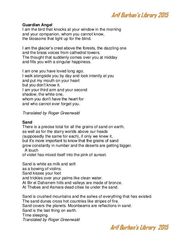 Gaurdian Angel Poems 7