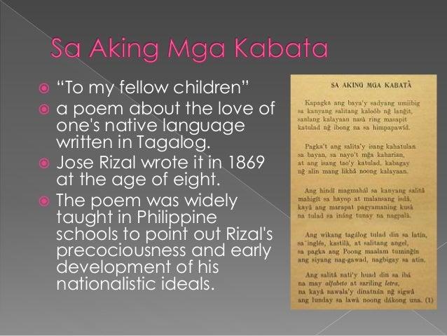 poems of rizal pdf