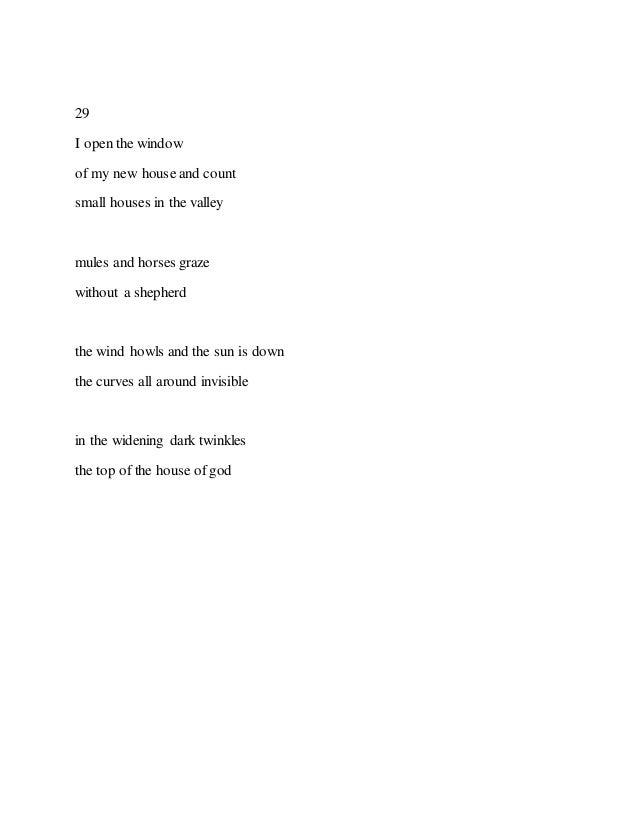 Oral poem sex