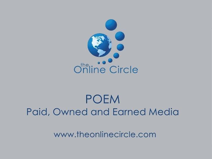 POEM System                              Earned                              Media                  Owned                 ...