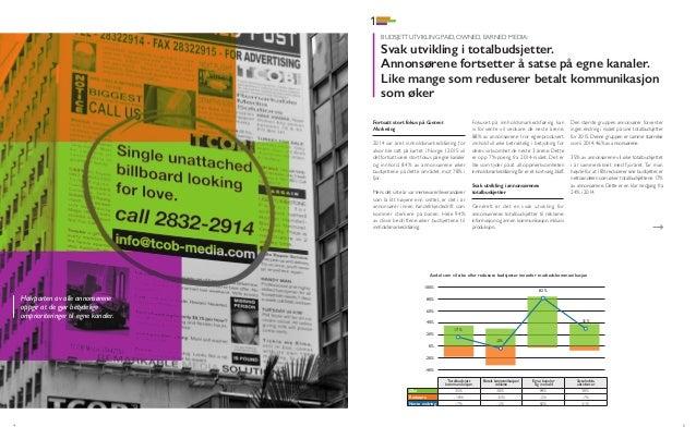Report Paid, Owned, Earned Media Undersøkelsen 2015 Slide 3