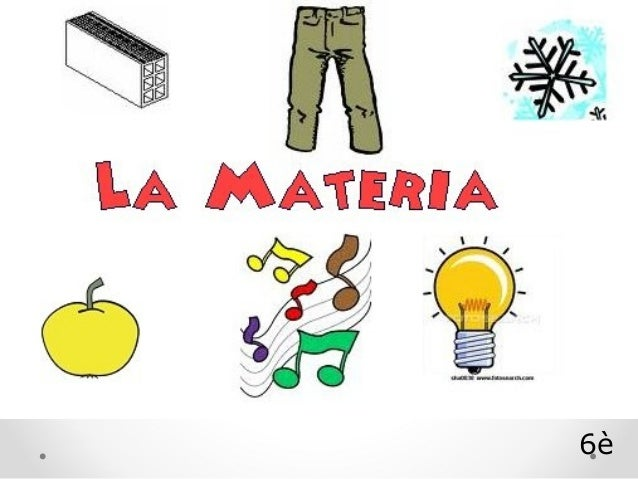 Projecte La Materia 6