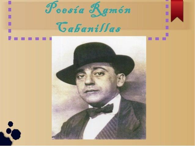 Poesía Ramón Cabanillas