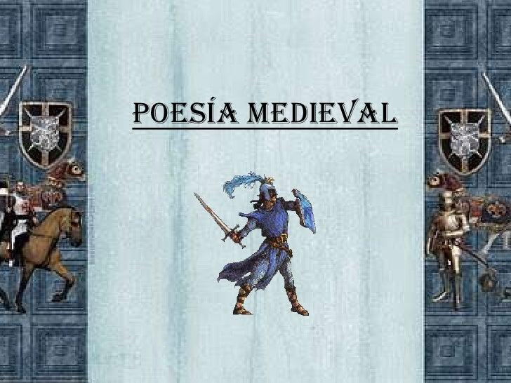 Poesía Medieval