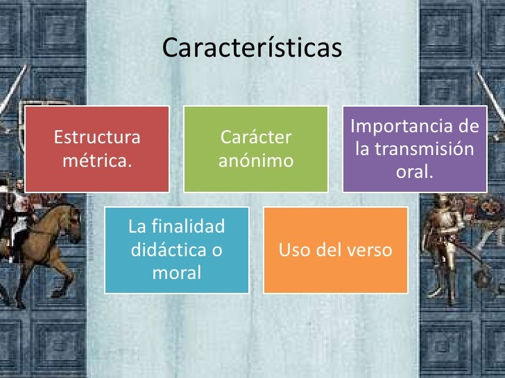 Características                                 Importancia deEstructura         Carácter                                 ...