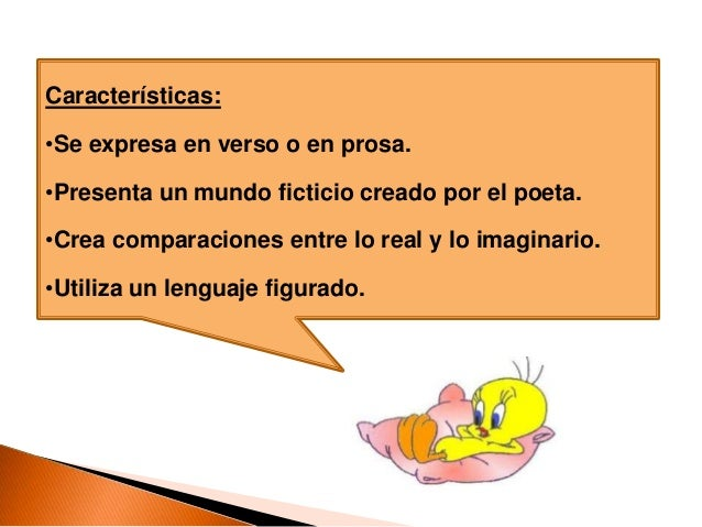 Poesía Y Su Estructura