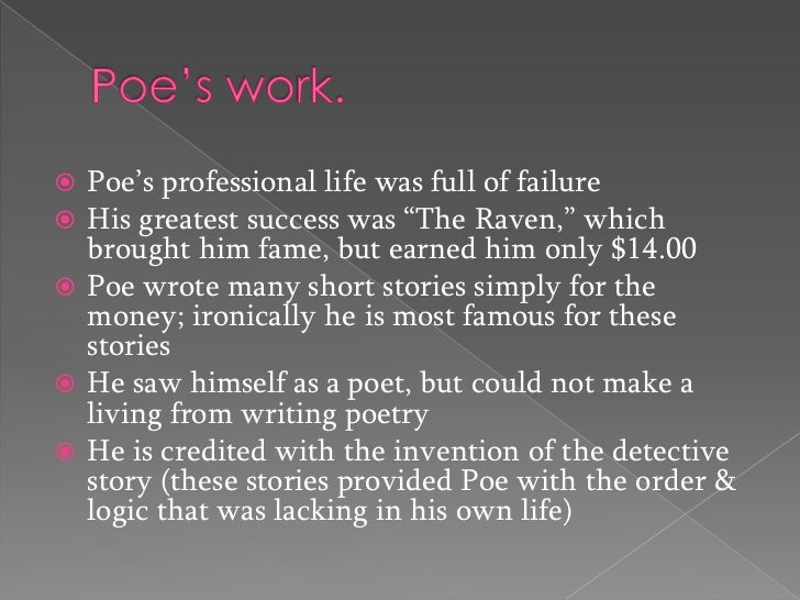 poes reinvention of american literature Allan poes annotated short stories edexcel  the reinvention of seeing emerald isle a stacy  use over 250 beautiful grasses english literature in context.