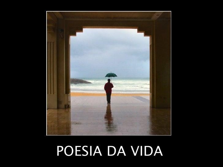 POESIA DA VIDA