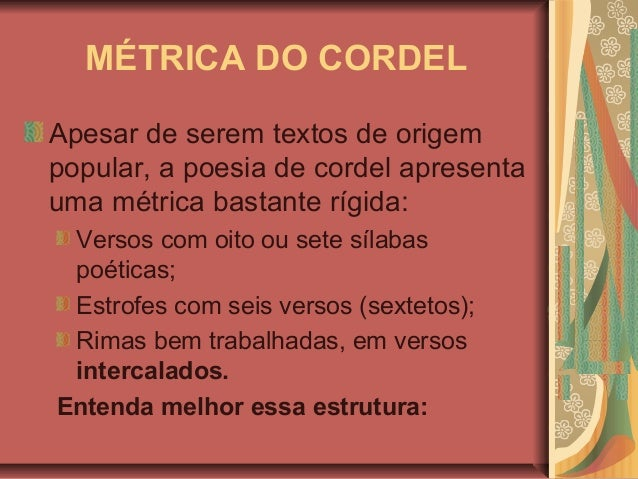 Poesia de cordel e cultura popular brasileira