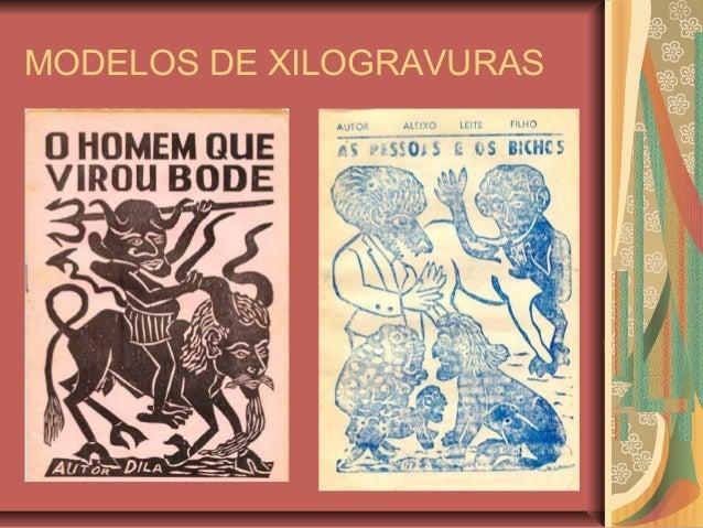 MODELOS DE XILOGRAVURAS