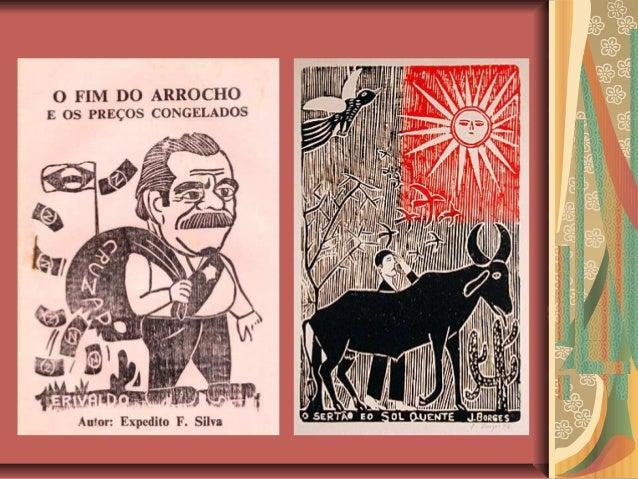 MÉTRICA DO CORDELApesar de serem textos de origempopular, a poesia de cordel apresentauma métrica bastante rígida:Versos c...