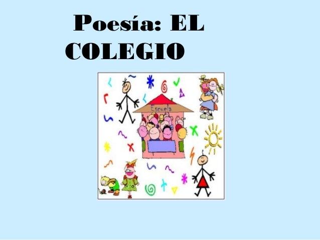 Poesía: EL COLEGIO