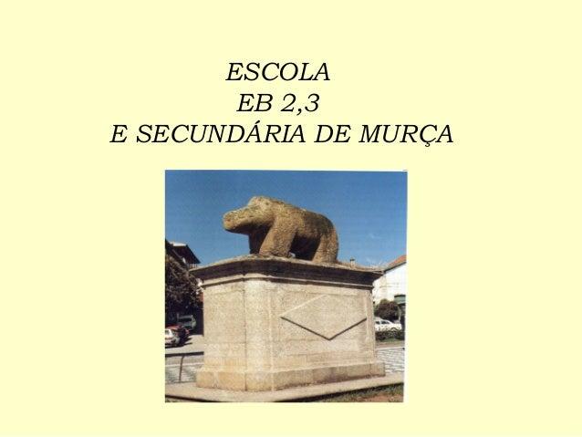 ESCOLA EB 2,3 E SECUNDÁRIA DE MURÇA