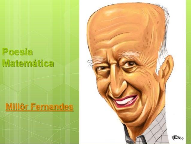 Poesia Matemática Millôr Fernandes