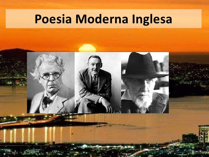 Poesia Moderna Inglesa