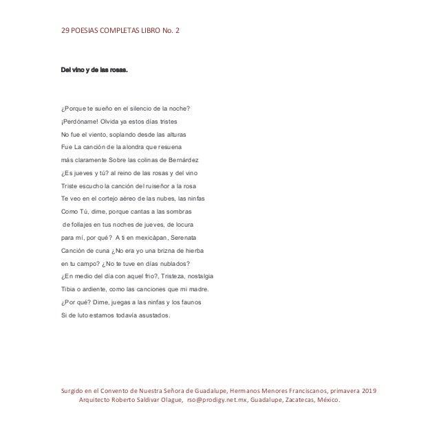 Poesias 2 Pdf