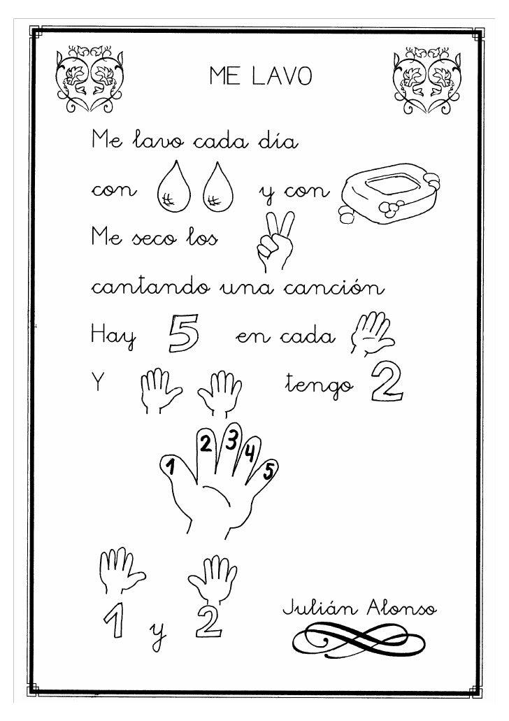 Poesias infantiles for Canciones para el jardin
