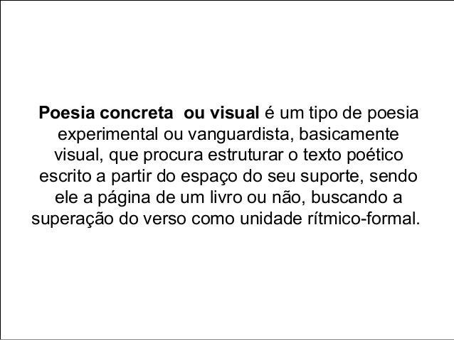 História da Arte: Poesia visual Slide 2