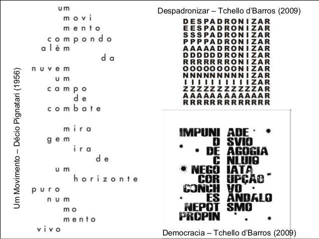 História da Arte: Poesia visual Slide 3