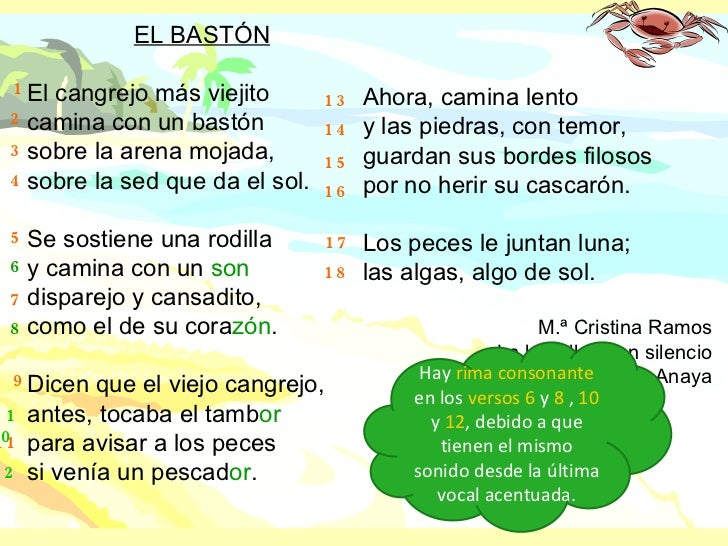 Poesia De Las Vocales: Aliteracion Largo Poemas De Las Vocales