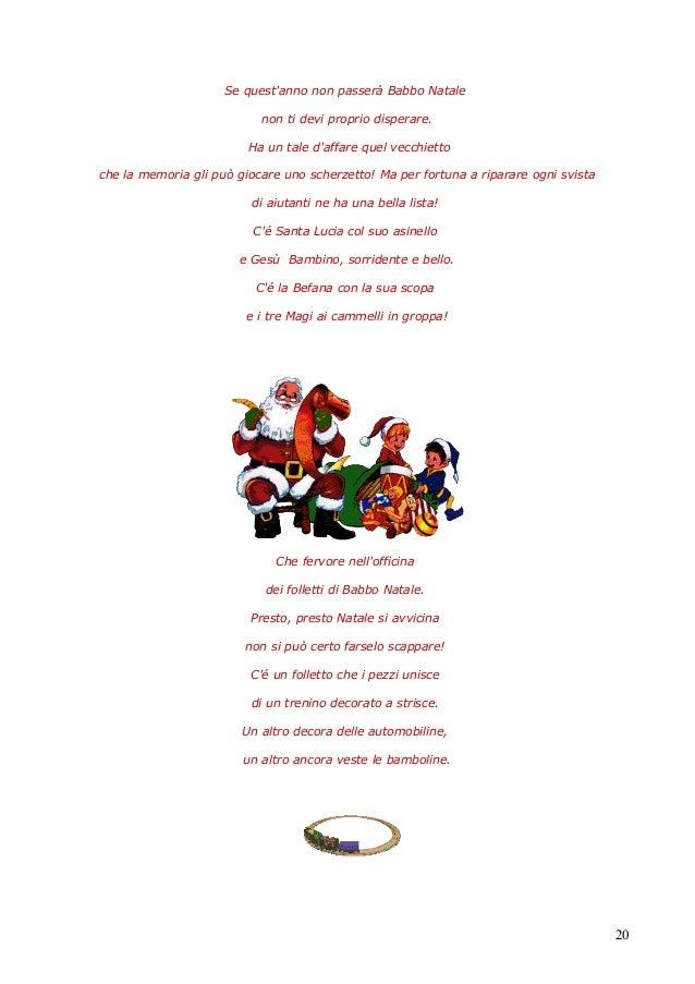 Poesie Di Natale Tradizionali.Poesie Su Babbo Natale