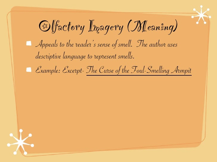 smell imagery