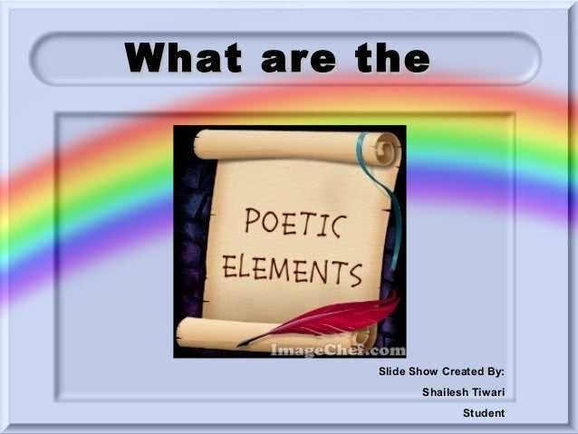 What are the  Slide Show Created By: Shailesh Tiwari Student