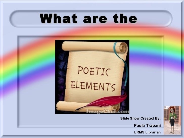 What are the         Slide Show Created By:                Paula Trapani                LRMS Librarian